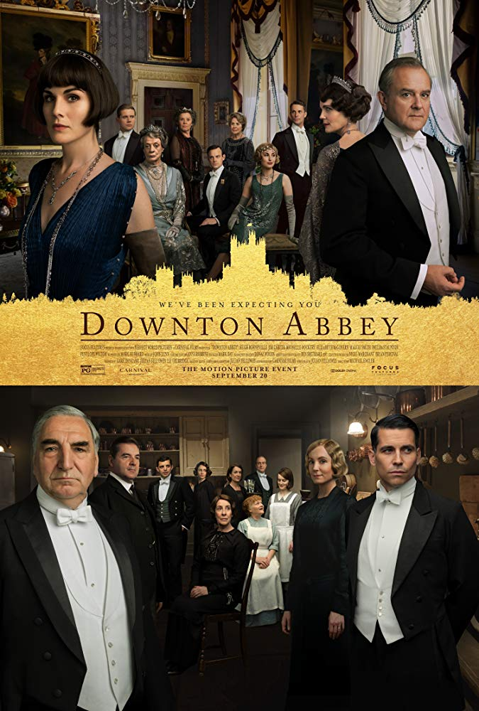 poster for downton Abbey film