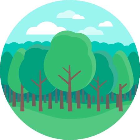 clipart forest